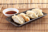 Japanese Dumplings — Stock Photo