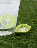 Lime Drink — Stock Photo