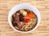 Comida japonesa de fideos Ramen — Foto de Stock