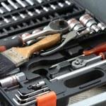 Garage tool box — Stock Photo
