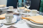 Luxurious dining table — Stockfoto