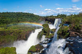 Iguazu falls view from Argentina  — Photo