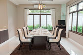 Modern dining room  — Stock Photo