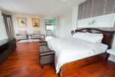 Modern bedroom interior  — 图库照片