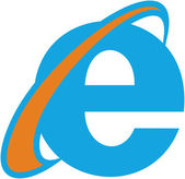 Internet Explorer — Stock Vector
