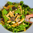 Stock Photo: Salad with prawn