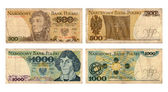 Five hundred and thousand zloty, Polish Public Republic — Stock fotografie