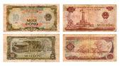 Ten dongs, Socialist Republic Vietnam — Stock Photo