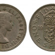One shilling, Britain, ElizavetSecond, 1956 — Stock Photo #40515119