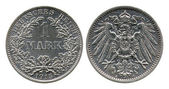 One mark, German Empire, 1915 — Stock Photo