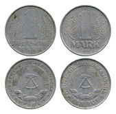 One mark, German Democratic Republic, 1963, 1977 — Stock Photo