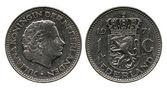 One gulden, Netherlands, queen Juliana, 1971 — Stock Photo