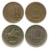 Ten stotinki, Bulgaria, 1951, 1999 — Stock Photo