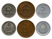 Five bani, Republic Rumyniya, 1957-1975 — Stock Photo