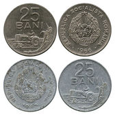 Twenty five bani, Socialist Republic Rumyniya, 1966-1982 — Stock Photo