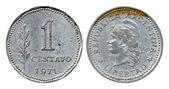 One centavo, Argentina, 1971 — Stock Photo