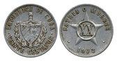 Twenty centavos, Cuba, 1972 — Stockfoto