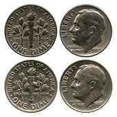 Dime, USA, 1969-1987 — Stock Photo