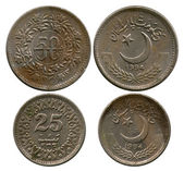 Fifty and twenty five pays, Pakistan, 1994 — Stock Photo