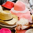 Photo of hat in market — Stock Photo