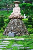 Buddha Statue in south korea — Stock Photo