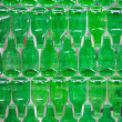 Green glass background — ストック写真
