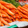 Fresh organic carrots — Stock Photo
