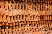 Stary tło ściany Cegła — Zdjęcie stockowe