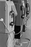 Old public telephone  — Stock Photo
