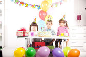 Kids birthday party — Stock fotografie
