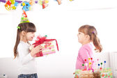 Celebrating birthday — Stockfoto