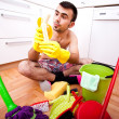 Stock Photo: House cleaning