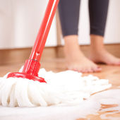 Ev temizliği — Stok fotoğraf