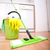 House cleaning — 图库照片