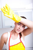 House cleaning — Foto Stock