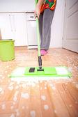 Limpeza da casa — Fotografia Stock