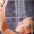 Young sexy woman having a shower — Stock Photo #39213069