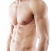 Muscular male chest and torso — Stock Photo
