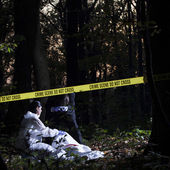 Crime Scene Investigation — Stock Photo