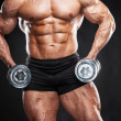 Bodybuilder. — Stock Photo
