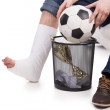 Forget about football — Stock Photo