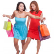 Stock Photo: Shopping confrontation.