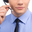 Man wearing a headset. — Stock Photo