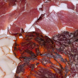 Assorted cold meats — Stock Photo