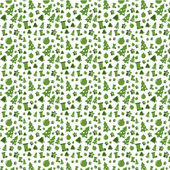 Green pattern. Christmas. — Stockvektor