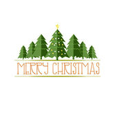 Vector illustration of Merry Christmas background — Stock Vector