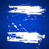 Bandera de grunge con espacio de copia en resumen antecedentes. ilustración vectorial. — Vector de stock