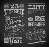 Natal e ano novo — Vetorial Stock