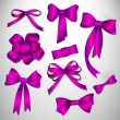 Vector bow collection. — Imagen vectorial