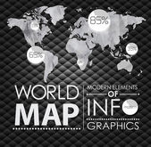 Modern elements of info graphics — Stock Vector